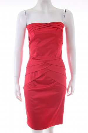 Unknown Rotes Bandeaukleid
