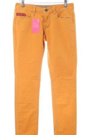 Unlimited Pantalon cinq poches orange clair style décontracté
