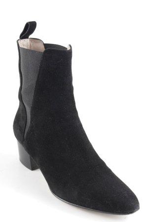 unnützer Chelsea Boots schwarz Casual-Look