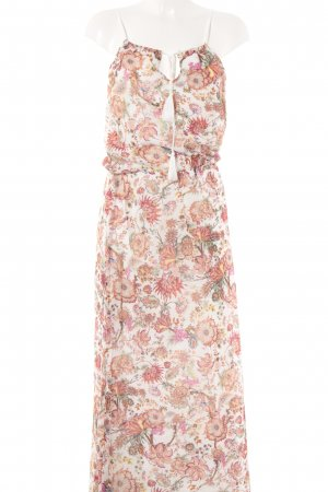 Uno Piu Uno Hippie Dress flower pattern casual look