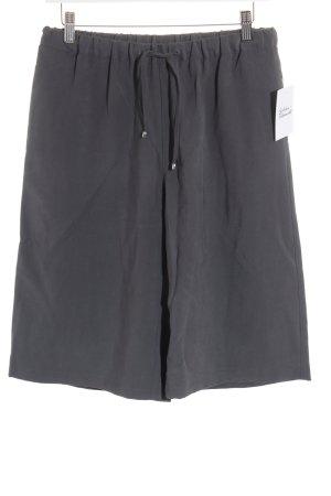 UNQ Falda pantalón de pernera ancha gris look casual
