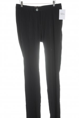 Unrath&Strano Bundfaltenhose schwarz Business-Look