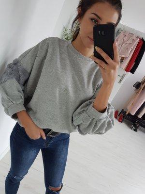 Oversized Blouse grey