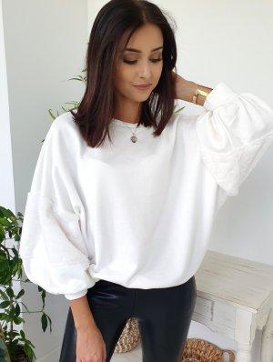 Oversized Blouse white