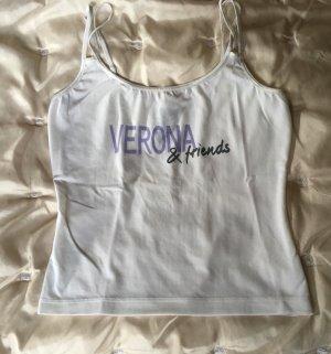Unterhemd von Veronas Dreams in weiß Größe XS