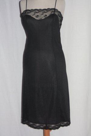 Unterkleid black Spitze 38