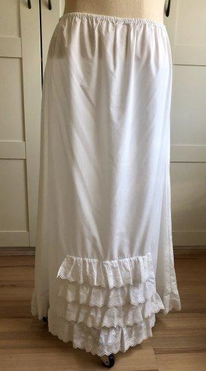 Folk Line Traditional Skirt white mixture fibre