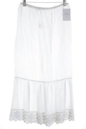Jupon blanc style romantique