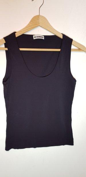 Jil Sander Basic topje zwart