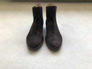 Unützer Chelsea Boots dark brown suede