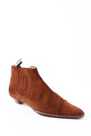 Unützer Chelsea Boots cognac Elegant