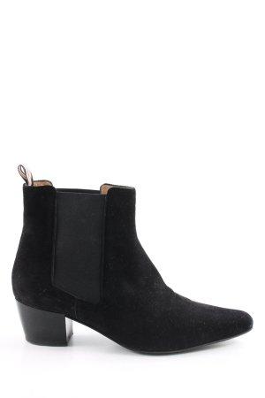 Unützer Chelsea Boot noir style d'affaires