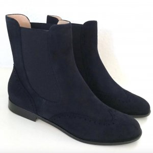 Unützer Chelsea Boot bleu foncé-bleu daim