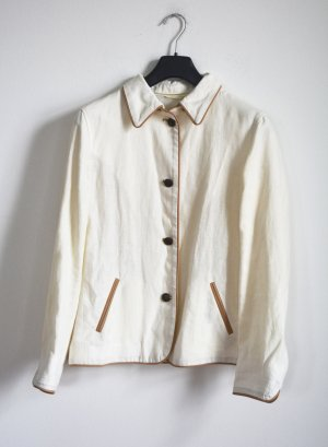 Peter Unützer Traditional Jacket oatmeal linen