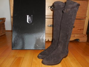 Unützer Stretch Boots brown suede