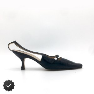 Unützer Slingback Pumps multicolored leather