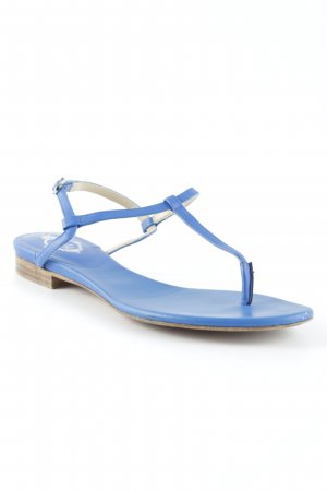 Unützer Strapped Sandals blue beach look