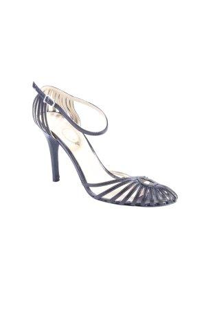 Unützer Riemchen-Sandaletten schwarz