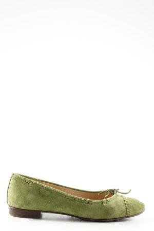 Unützer Zapatos sin cordones caqui look casual