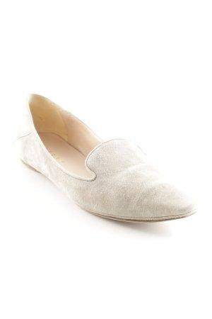 Unützer Zapatos formales sin cordones gris claro estilo «business»