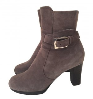 Unützer Zipper Booties multicolored suede