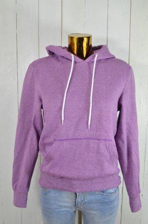 Jersey con capucha púrpura Algodón