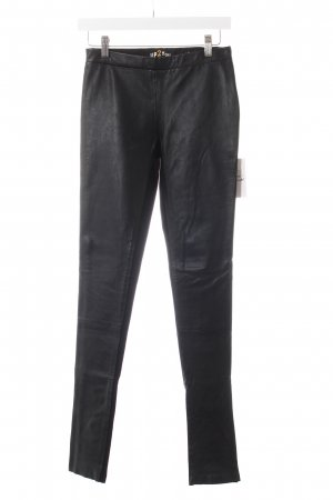 up2you Lederhose schwarz Biker-Look