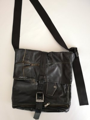 upcycled leather bag by ichichich