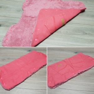 Handschoenen zonder vingers roze-roze