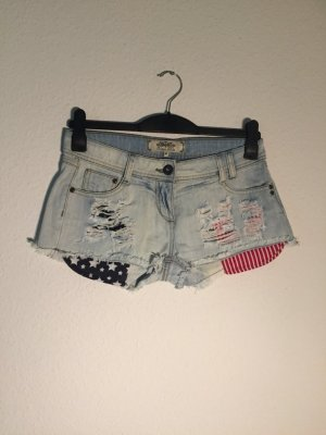 Urban Bliss destroyed USA Shorts S