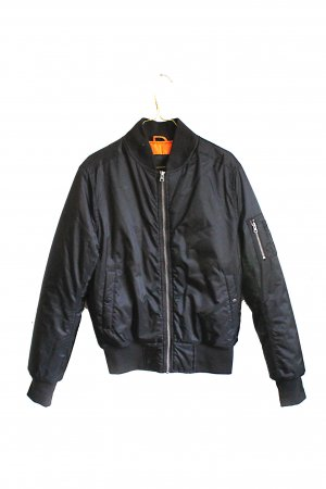 Urban Classics Bomber Jacket black-orange