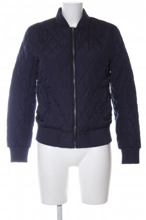 Urban Classics Bomber Jacket blue quilting pattern casual look