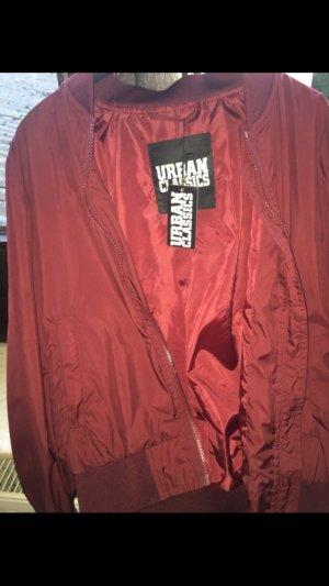 Urban Classics Bomberjacke mit Etikett ungetragen weinrot schön#collage#bomber#