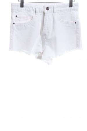 Urban Classics Hot Pants weiß Casual-Look
