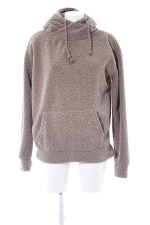 Urban Classics Jersey con capucha marrón claro mullido