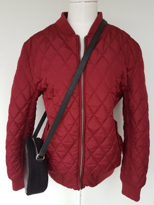 Urban Classics Quilted Jacket bordeaux