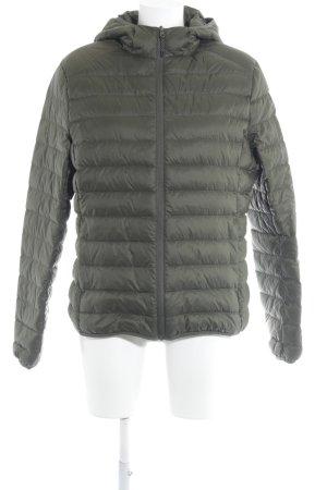 Urban Classics Quilted Jacket khaki boyfriend style