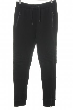 Urban Classics Sweat Pants black quilting pattern casual look