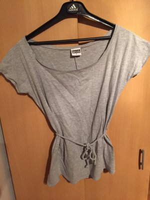 Urban Classics Boatneck Shirt light grey