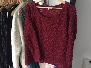 Urban Outfitter Sweater weinrot