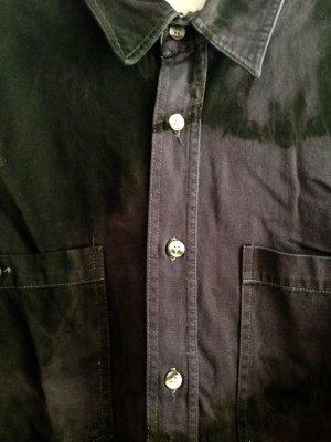Urban Outfitter Vintage Hemd - Batikwaschung scwarz/lila