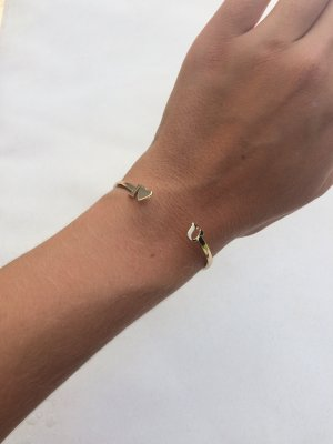 Urban Outfitters Armreif I love you Gold