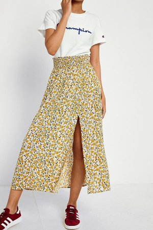 Urban Outfitters Jupe mi-longue multicolore
