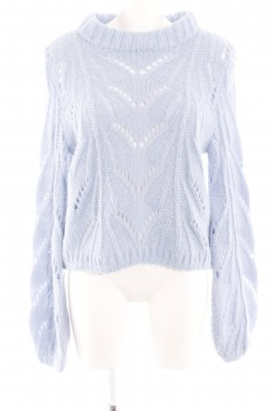 Urban Outfitters Coarse Knitted Sweater blue casual look