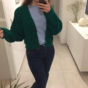 Urban Outfitters grüne kurze Strickjacke Cardigan Knit
