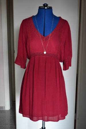 Urban Outfitters Kleid Rot Spitze
