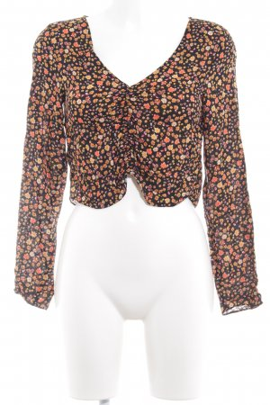 Urban Outfitters Langarm-Bluse Blumenmuster Romantik-Look