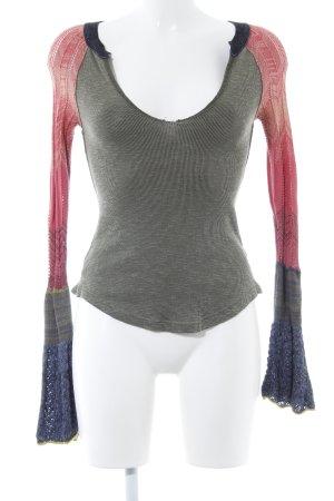 Urban Outfitters Longshirt Farbverlauf Used-Optik