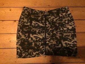 Urban Outfitters Mini-Rock/Minirock schwarz-grau Größe L
