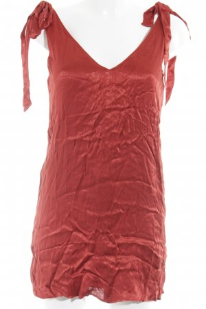 Urban Outfitters Robe courte rouge style festif